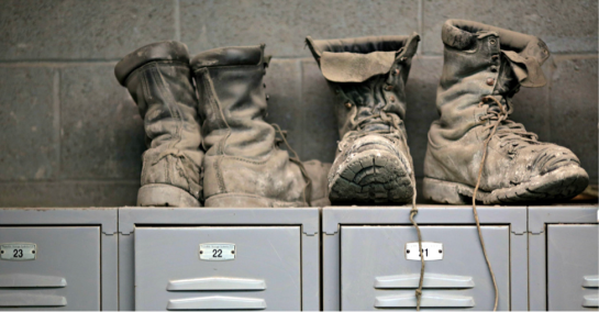 Coal Miners Work Boots